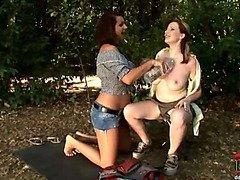 Busty babes lesbians LaTaya Roxx & Ricky