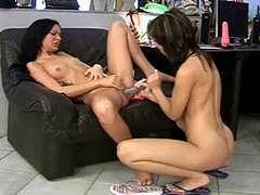 Lesbian teens fucking each other