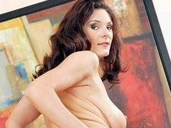 Natural Busty Babe Naked