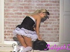Naughty maid Aaliyah Love